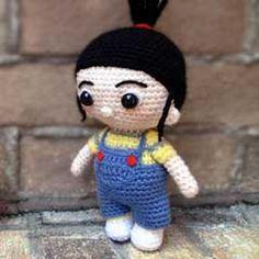 Download Lil Agnes Despicable Me Amigurumi Pattern (FREE)