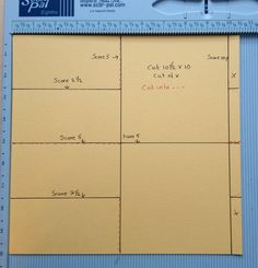 annes papercreations: Pocket flip page tutorial for the 5X5 Home Sweet Home mini album