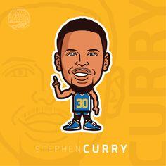 Stephen Curry #stephen #steph #curry #stephencurry #stephcurry #warriors #nba #basketball #cartoon #comic #vector #tommillerart