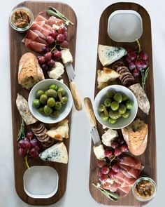 Celebratory charcuterie! http://davidrasmussendesign.com/collections/kitchen-boards