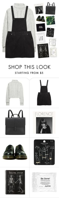 """""""✨just take the pain✨"""" by grunge-alien ❤ liked on Polyvore featuring Bamford, Monki, Danielle Foster, KEEP ME, Dr. Martens, Topshop, Herbivore and grungestopset"""