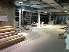 Découvrez les coulisses des travaux de la Future salle de fitness des Cercles de la Forme, le Cercle Nation Paris 12 qui ouvrira ses portes en Mai 2013 www.cerclesdelaforme.com  #sport #nation #coursparis #gym