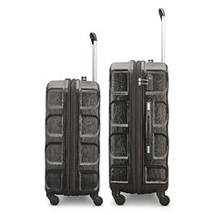 "Amazon.com: Samsonite Magnitude Lx 2 Piece Nested Hardside Set (20""/24""), Black, Only at Amazon: Clothing Luggage Bags, Nest, Sofa, Amazon, Clothing, Stuff To Buy, Black, Jewelry, Fashion"