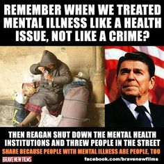Ronald Reagan, went after the Defenseless for the benefit of the RICH....STEAL Tax funds to GIVE to the Rich Moochers!!!!#