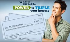 Have the power to TRIPLE YOUR INCOME. Save this image and click the link below. Now! Way To Make Money, Make Money Online, Work From Home Opportunities, A Team, Success, Tools, Link, Easy, Image