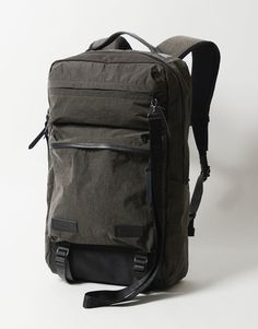 Nemen expands their bag range with Master-piece. Range, Backpacks, Tote Bag, Spring, Leather, Fabrics, Future, Style, Travel