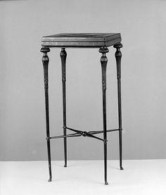Table 1890-1905 Oak, bronze Designed by Louis Comfort Tiffany