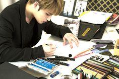 [VIDEO] 150603 MOLDIR – The Sketch by Kim Jaejoong | JYJ3
