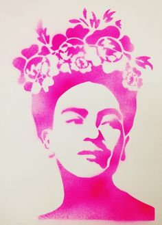 Good evening everyone,      Here is my submission for this month.  It is a hand cut stencil of the beautiful Mexican artist, Frida Kahlo.  ...