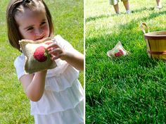 berry picnic games - make teddy gear on bean bag instead if strawberry