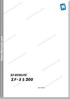 download zf-ecolite 5s200 german language parts catalogue online pdf and  how to search part