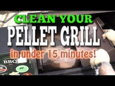 How to clean a pellet grill in under 15 minutes, yes, even a Traeger! Pit Boss Smoker, Pit Boss Pellet Grill, Traeger Smoker Recipes, Pellet Grill Recipes, Barbecue Smoker, Bbq, Rec Tec, Grilling Tips, Barbecue