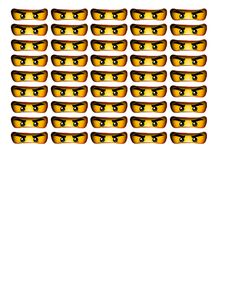 Ninjago tootsie pop eyes.pdf - Google Drive Ninja Birthday Parties, 7th Birthday, Birthday Ideas, Ninjago Party, Lego Ninjago, Doterra, Evan, Gymnastics Party, Good Spirits