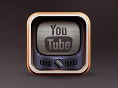 Youtube Icon by Sanadas young