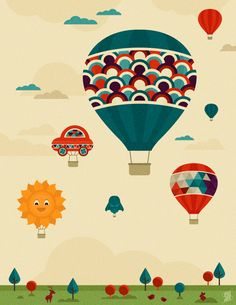 Hot Air Balloon Fiesta on Behance