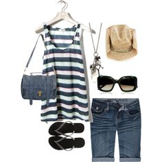 Cruise Outfit 3, created by donna-holmes on Polyvore