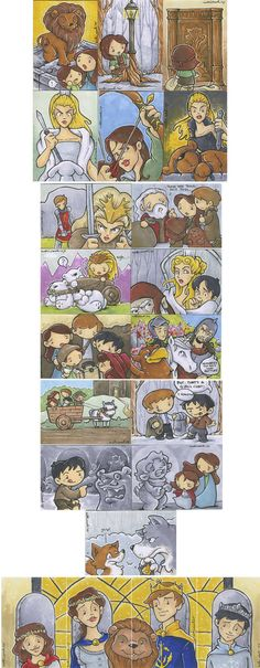 Narnia pictures not in order of events but still cool