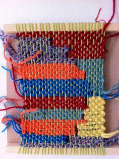 weaving workshop by Ilse Acke