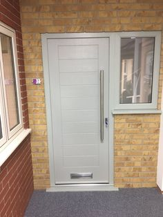 Our Mayon design in our popular Pearl Grey is a wonderful addition to this home. Design your dream Endurance door here; http://design.endurancedoors.co.uk/