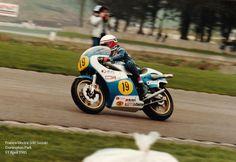 11 April 1981 - Donington Park - Franco Uncini - 500 Suzuki