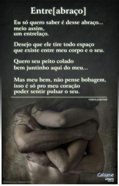 Abraço é #TUDODEBOM!