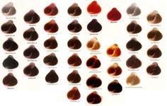 tabela de cores cabelos koleston tendencias