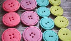 Veselé cukroví – pečené knoflíky