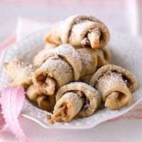 Interesting twist on a classic. Snickerdoodle Croissant Cookies