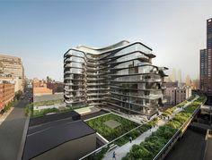 Zaha Hadid publica nueva imagen de su primer edificio residencial en Nueva York