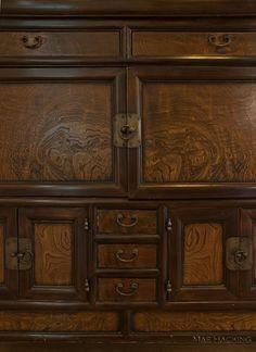 Detail of Stefanie's Korean chest of drawers