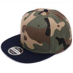 Baseball Caps - Camo flat snapback - Unisex Caps – HOT YOGA BASICS b72f498127e