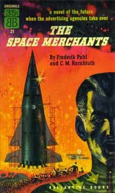 THE SPACE MERCHANTS - cover by Richard Powers