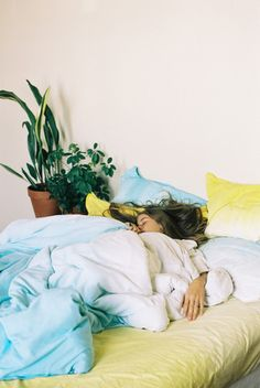 beautiful hand-dyed bedding by suku