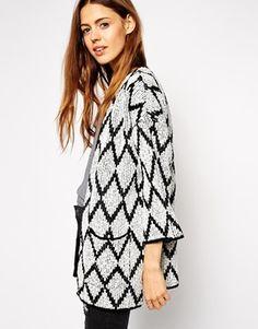 ASOS Kimono Cardigan in Pattern