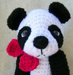 Simply Cute Panda Bear By Teri Crews Designs - Purchased Crochet Pattern - (craftsy)