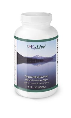 E3Live Flavored (16 oz) - A fresh-frozen, organic favorite! Nutritionally, E3Live provides more than 65 vitamins, minerals, amino acids & essential fatty acids and has more biologically active chlorophyll than any known food. It is the most nutrient dense food known to mankind. $32.95 per 16 oz. bottle (but save if you order 6+ bottles on www.e3live.com).   Also comes in an 8 oz size. #e3live