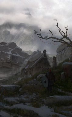 Viking Age, Erikas Perl on ArtStation at https://www.artstation.com/artwork/ZxWVm?utm_campaign=digest&utm_medium=email&utm_source=email_digest_mailer