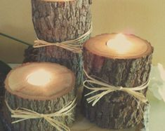 cabin decor diy style you can put candles or even solar lights in them for you back yard landscape