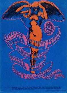 vintage psychedelic concert poster