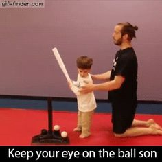 Keep Your Eye on The Ball | Funny Pictures, Quotes, Pics, Photos, Images