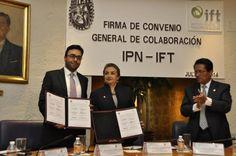 Acuerdan IPN e IFT desarrollo en telecomunicaciones y radiodifusión
