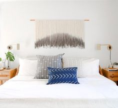 master bedroom nursery makeover for max & margaux wanger // sarah sherman samuel Rustic Wall Sconces, Bathroom Wall Sconces, Nursery Nook, All White Bedroom, Cozy Bedroom, Sconces Living Room, Mid Century Modern Design, Interior Design, Room Interior