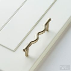 """Make it Wave! Amerock as seen in """"Cabinet Hardware for Every Kitchen Style"""" bhg.com #bhg"""