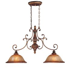Shop Minka Lavery  1352-177 2 Light Island Light, Illuminati Bronze™ at ATG Stores. Browse our kitchen island lighting, all with free shipping and best price guaranteed.