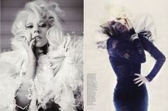 Lady Gaga...one of the greatest fashion icons in my book