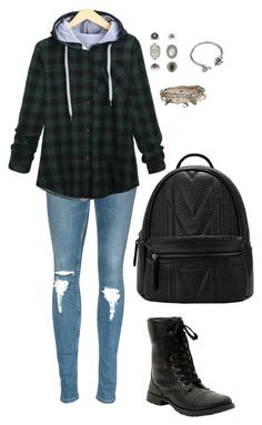 """""""Untitled 570"""" by leo-s-fire ❤ liked on Polyvore featuring Topshop, Sweet Romance and Aéropostale"""