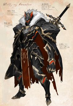 Warrior Concept Art, Robot Concept Art, Armor Concept, Weapon Concept Art, Fantasy Armor, Fantasy Weapons, Dark Fantasy Art, Fantasy Character Design, Character Design Inspiration