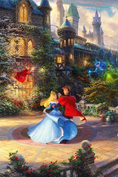 Mickey and Company Disney Princess Aurora, All Disney Princesses, Disney Princess Drawings, Disney Princess Pictures, Disney Drawings, Disney Paintings, Disney Artwork, Disney Fan Art, Disney Images
