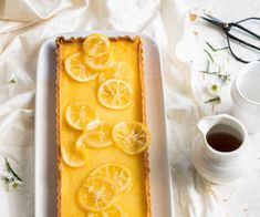 Easy peasy silky lemon tart by Nadia Lim | NadiaLim.com