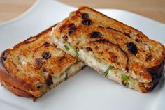 Goat Cheese Sandwiches with Honey & Fig